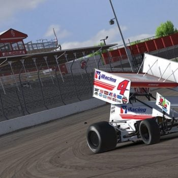 Kasey Kahne iRacing Dirt Sprint Car