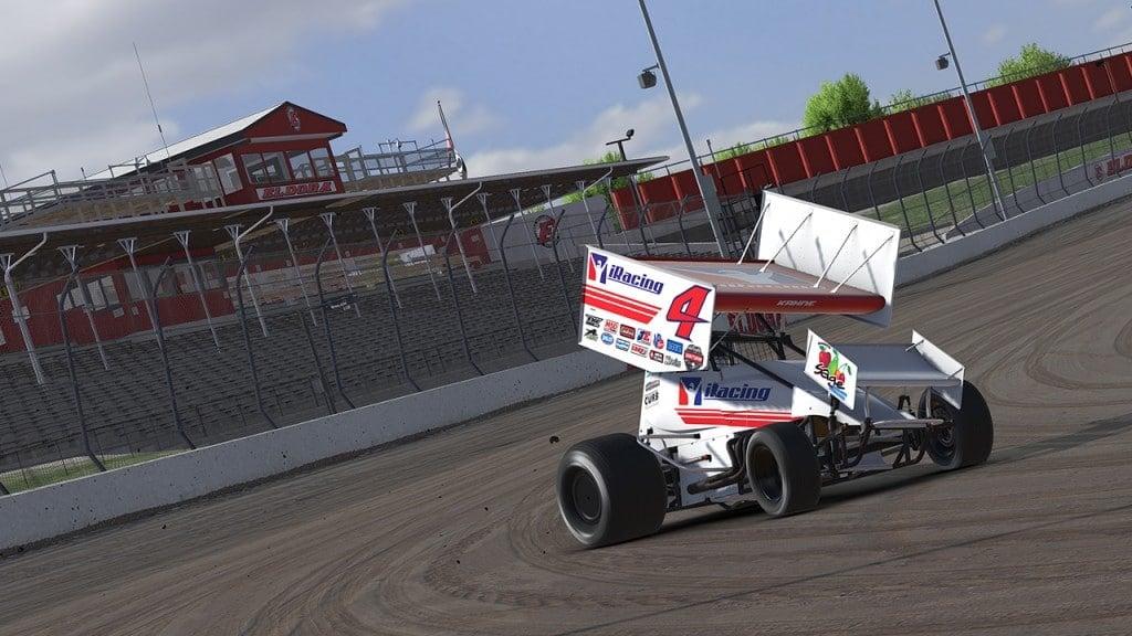 Kasey Kahne iRacing Dirt Sprint Car