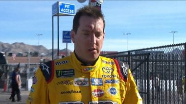 Kyle Busch vs Joey Logano Fight Video