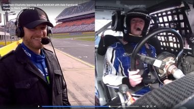 Mark Zuckerberg NASCAR Racing Expirence - Facebook CEO