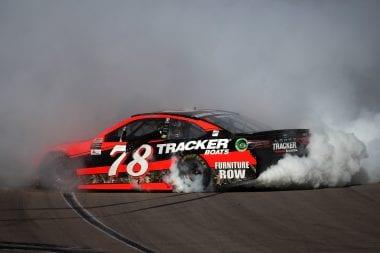 Martin Truex Jr Wins Las Vegas Motor Speedway NASCAR Race 2017