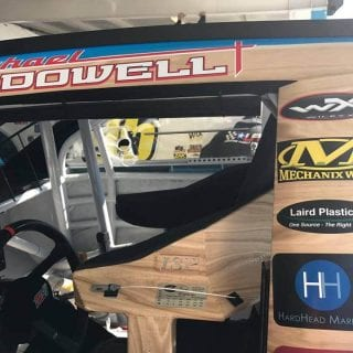 Michael McDowell Woodie Wagon Paint Scheme