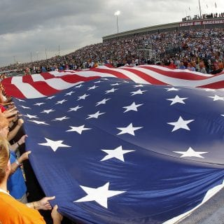 NASCAR Lucas Oil Raceway Park Grandstands