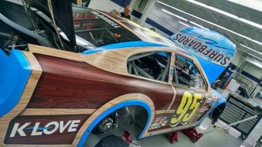 NASCAR Woodie Wagan Paint Scheme Photo