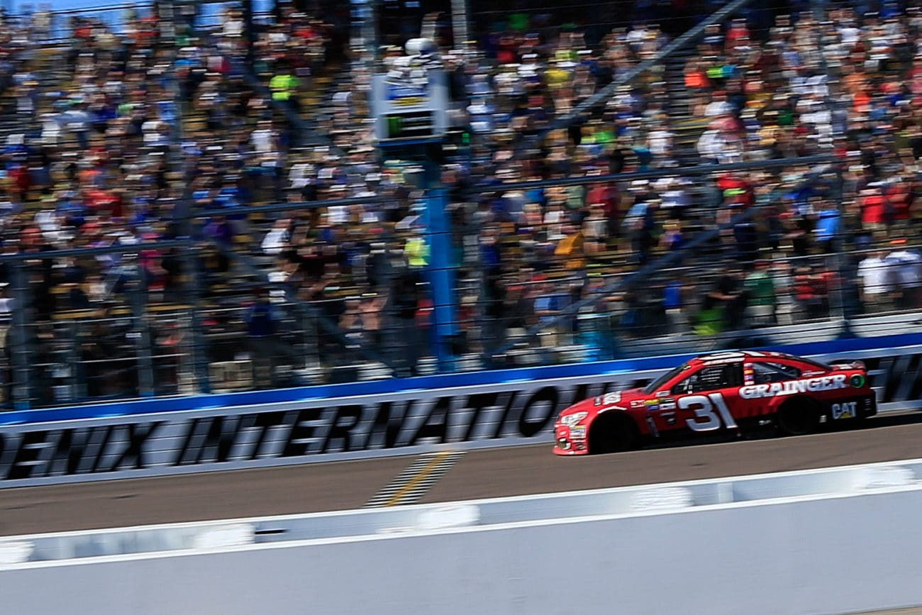 Phoenix International Raceway Results - Winner Ryan Newman