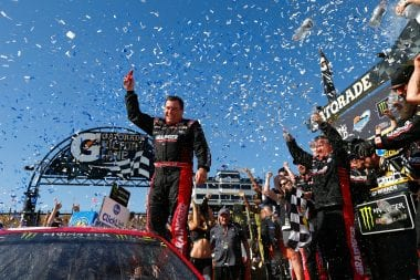 Ryan Newman Wins Phoenix International Raceway NASCAR race