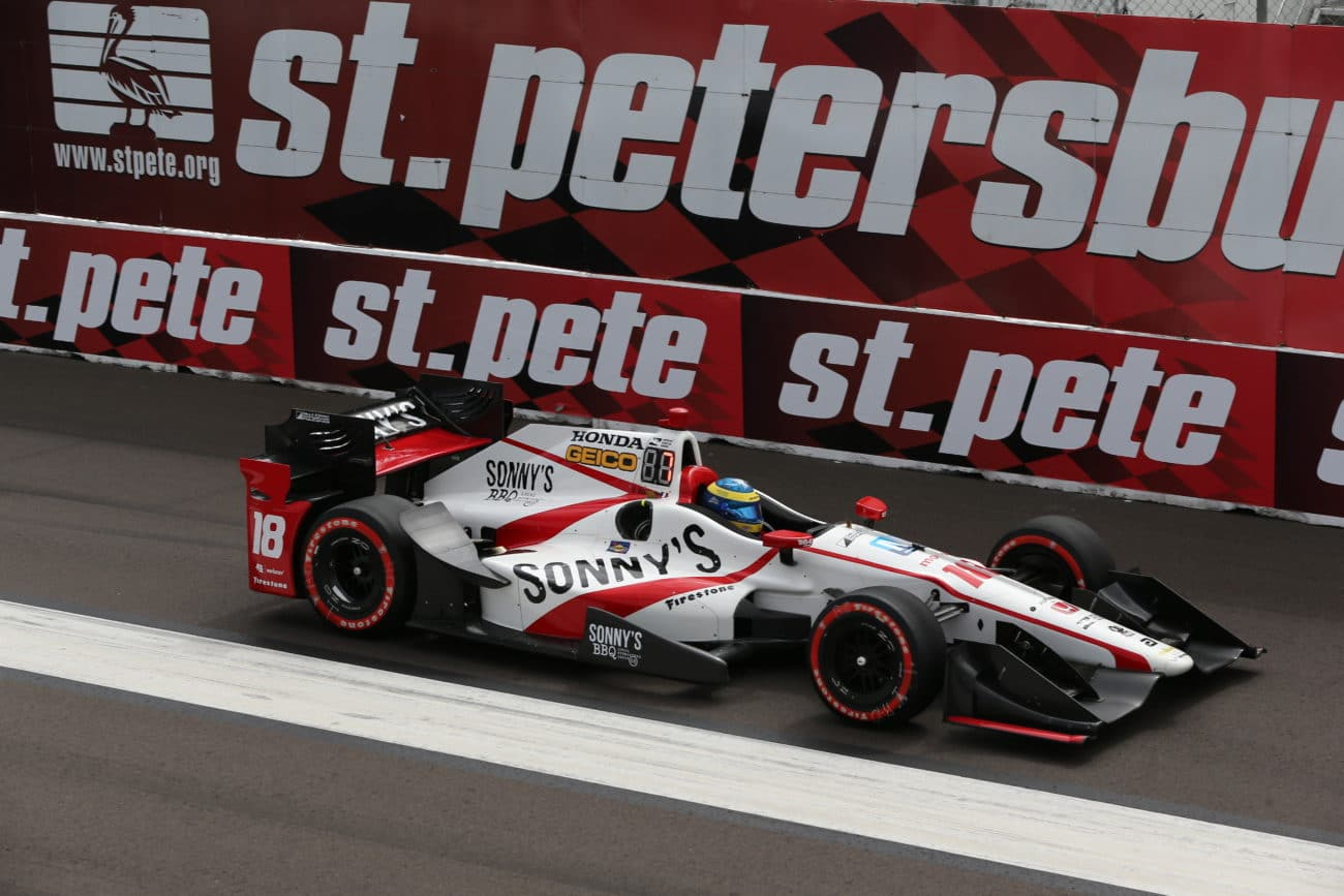Sebastien Bourdais Last to First 2017 GP of St Petersburg