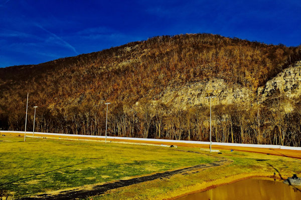 The Greater Cumberland Raceway Rock Face