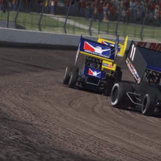 iRacing Dirt Sprint Car Racing Game