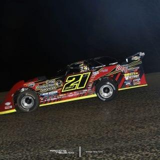 Billy Moyer Jr Lucas Oil Late Model Dirt Series bad Boy 98 2187