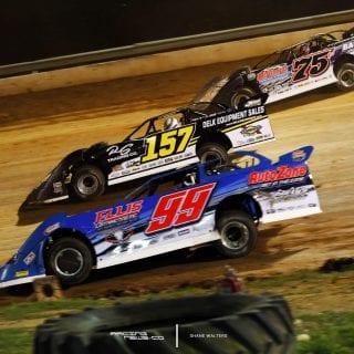 Boyds Speedway 3 Wide Dirt Racing 9462