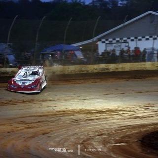 Brandon Overton Racing Photo - Boyds Speedway 9118