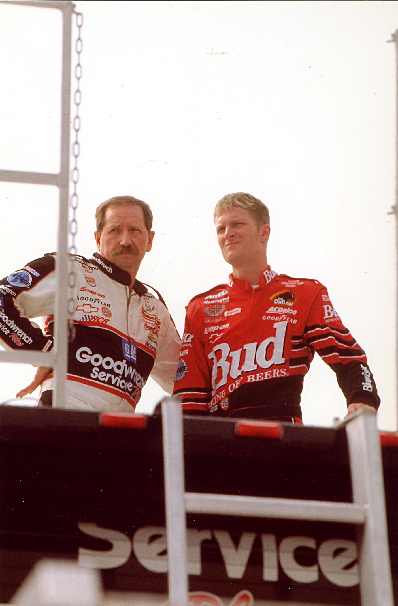 Dale Earnhardt Jr and Dale Earnhardt Sr