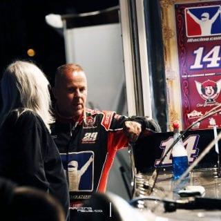Darrell Lanigan Racing Driver 9387