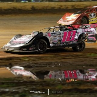 Dirt Late Model Reflection 9586