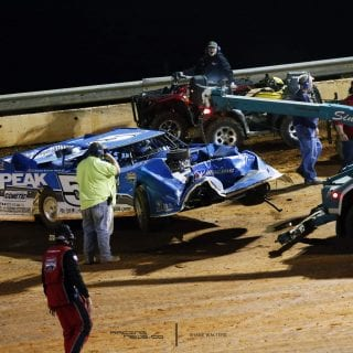 Don Oneal Boyds Speedway Crash 9530