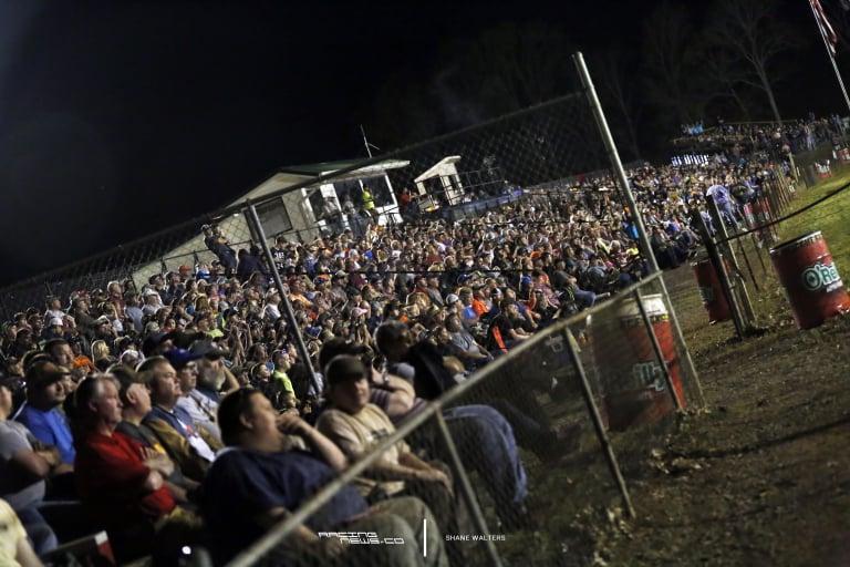 Duck River Raceway Park Grandstands 0808