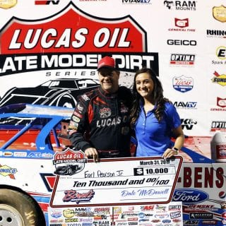 Earl Pearson Jr Victory Lane Girl 9720
