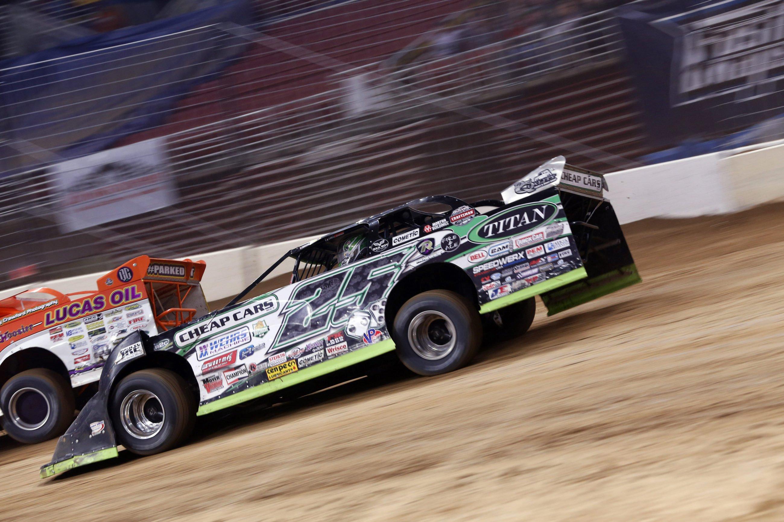 Jason Feger DIRTcar Suspension LaSalle Speedway
