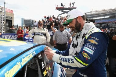 Jimmie Johnson Dehydration - Texas Motor Speedway