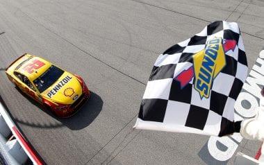 Joey Logano Richmond International Raceway winner April