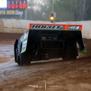 Josh Richards Lucas Oil Late Model Dirt Series Photo 8979