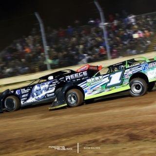 Josh Richards Scott Bloomquist Sharon Speedway 3209