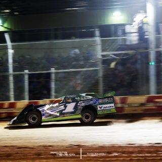 Josh Richards Sharon Speedway Lucas Oil Late Model Dirt Series 3371