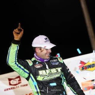 Josh Richards Sharon Speedway Victory Lane 3385