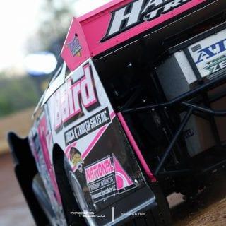 Pink Black Dirt Late Model 8904