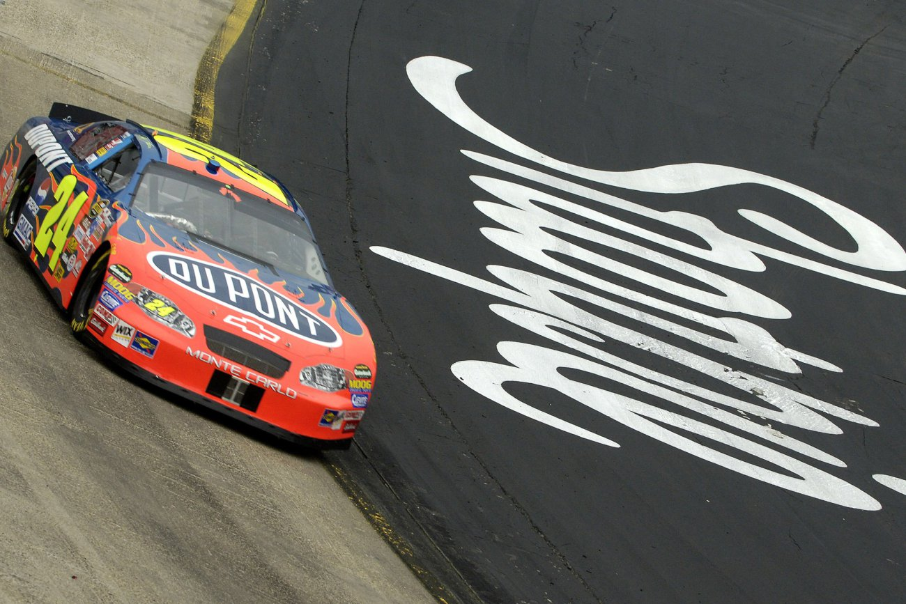 Sam Bass Jeff Gordon Flames Designer