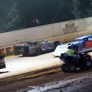 Scott Bloomquist Jonathan Davenport Boyds Speedway 9497