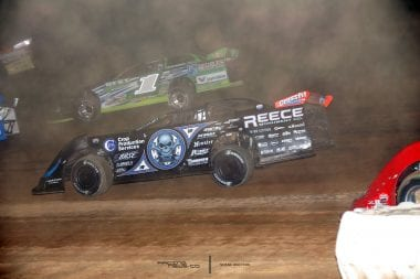 Scott Bloomquist Josh Richards Atomic Speedway Lucas Oil Dirt 2622