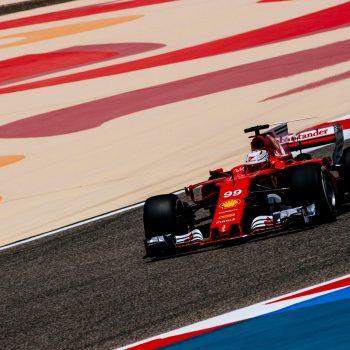 Scudera Ferrari Bahrain Test