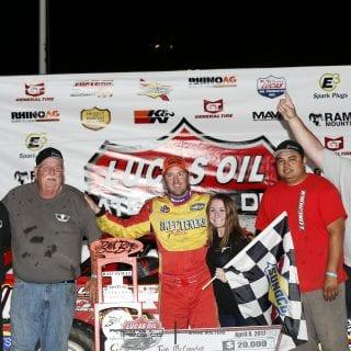 Tim McCreadie racing Crew 2312