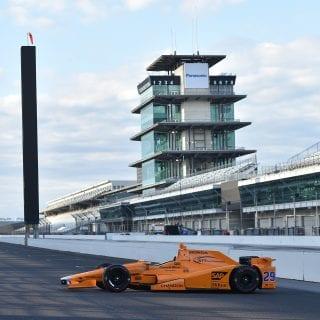 2017 Fernando Alonso Indianapolis 500 Car Photos