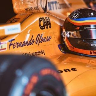 2017 Fernando Alonso Indy 500 Car Photo