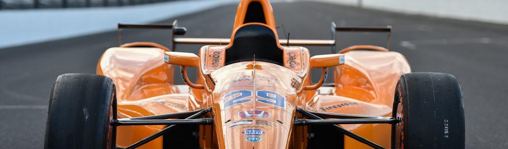 Fernando Alonso INDYCAR Test Video