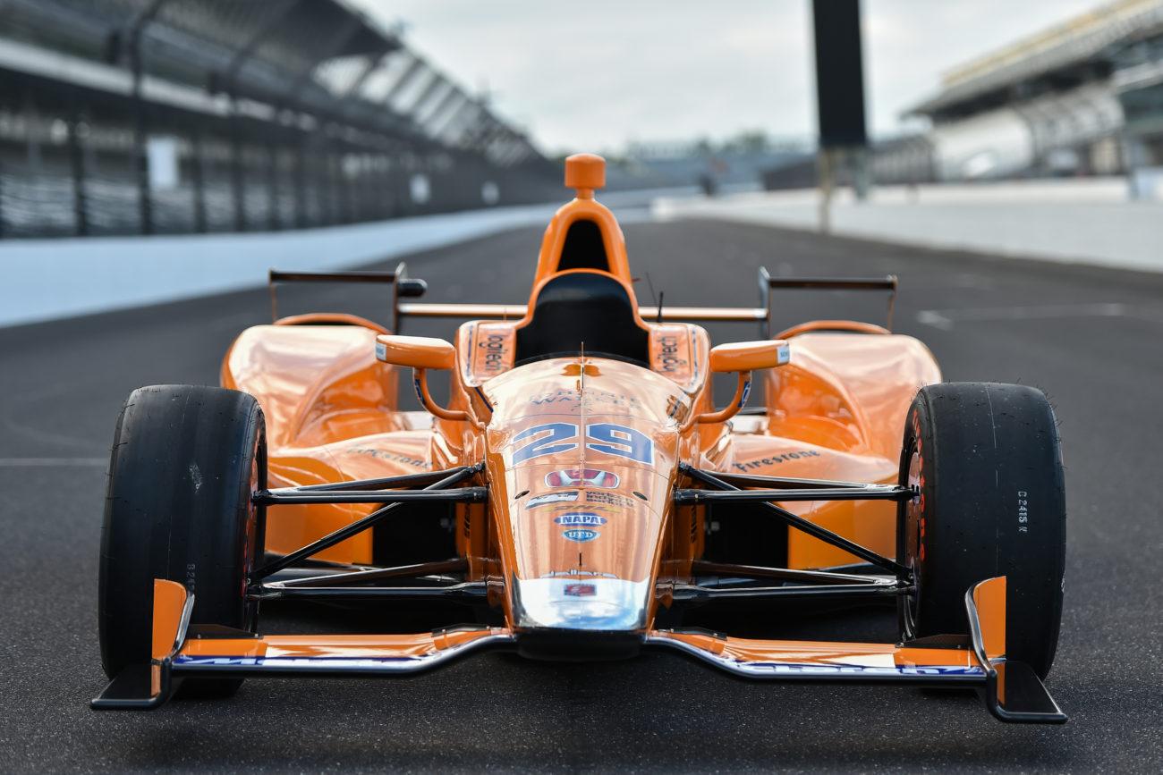 2017 Fernando Alonso Indy 500 Racecar Photos