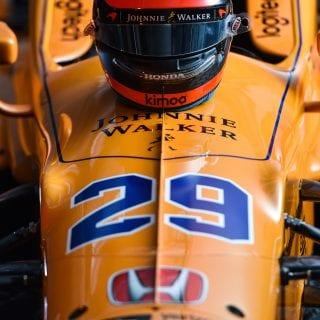 2017 Fernando Alonso Indy Car Photos