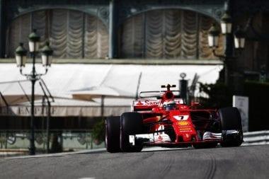 2017 Monaco Grand Prix - Kimi Raikkonen