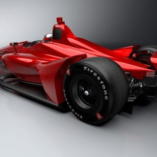 2018 Indycar Chassis - Oval Body