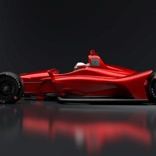 2018 Indycar Oval Body