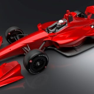 2018 Indycar Road Course Body