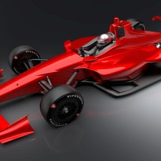 2018 Indycar Superspeedway Chassis
