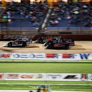 3 Wide Lucas Oil Speedway 8504