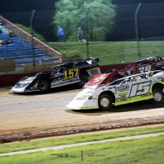 3 wide at Lucas Oil Speedway 8737