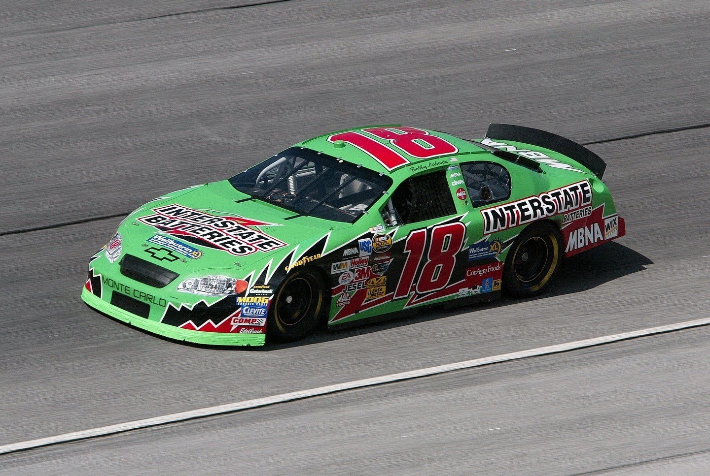Nascar Champion Bobby Labonte To Race In Nwes At Brands Hatch