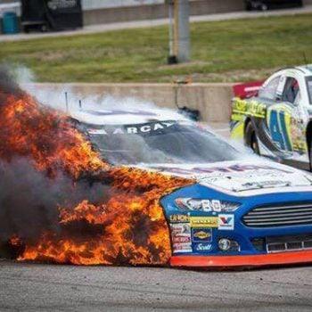 Brian Finney Fire - ARCA Racing Series 2