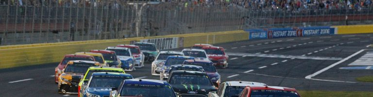 Charlotte Motor Speedway VHT Traction Compound in Use – Kyle Busch Comments